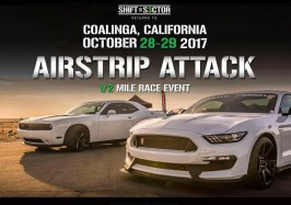 SHIFT S3CTOR Airstrip Attack: Coalinga, CA October 28-29 2017